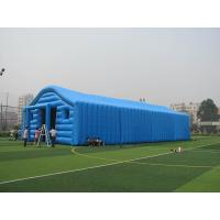 China Commercial Blue Color Inflatable Tent / Inflatable Warehouse Tent for Storage on sale