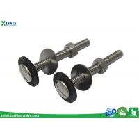China Customized Length Toilet Tank Bolts / Toilet Bowl Bolts Anti - Corrosion wholesale