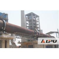 China 0.16-1.62 r/min Limestone Rotary Lime Kiln Equipment for Refractory Material wholesale
