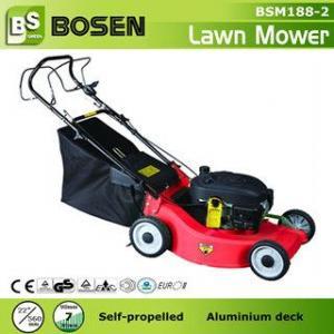 China 22 Aluminium Deck Hand Push Lawn Mower wholesale