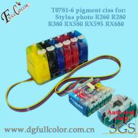 China Refillable ink tanks, CISS Continuous Ink Supply System for Epson Stylus T60 printer wholesale