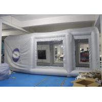China Durable Inflatable Spray Booth Reinforced Oxford Cloth Material CE / UL wholesale