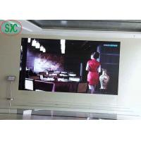 Buy cheap Full color customized size indoor  P4 62500 dots/sqm  iron cabinet advertising led screens from wholesalers