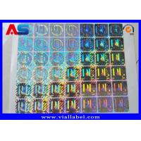 China Custom Holographic Stickers , Anti Fake 3D Hologram Stickers Printing wholesale