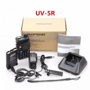 China UV-5R Walkie Talkie 5W 128CH UHF+VHF HF Transceiver Ham Radio Amateur wholesale