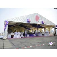 Buy cheap Sunlight Proof Aluminum Frame Outdoor Party Tents / Large Commercial Event Tents from wholesalers