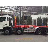 China 290hp Sinotruk T5G 8×4 Hook Lift Garbage Truck One Bed Model Zz3317n3267c1 wholesale