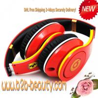 China Monster Beats By Dre Lamborghini Edition Headphones--RED wholesale