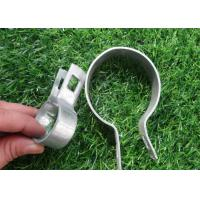 China 89mm Galvanized Chain Link Fence Hardware Tension Bands For Connection wholesale