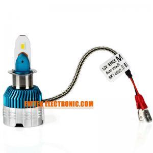 China Rocket Shape CSP LED Headlight 35W High Light  Slim Car Headlight Bulbs on sale