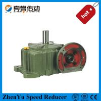 Large diameter electric motor speed reducer worm reduction for Reduction gearbox for electric motor