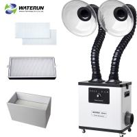 Buy cheap Low Noise Double Duct Mini Fume Extractor For Moxibustion And Beauty Fume from wholesalers