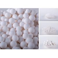 China Chemical High White Activated Alumina Balls For Remove Chlorine And Air Dryer wholesale