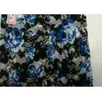 China Flower Shape Digital Printed Fabric At Home , Spandex and Nylon Content wholesale