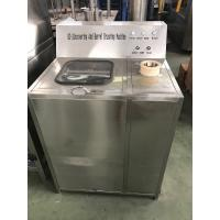 China low price semi-automatic/manual 5 gallon bottle de-capping washing machine 304 stainless steel wholesale