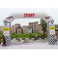 China Outdoor Custom Inflatable Arch PLD - SA With Lighting System / Banners wholesale
