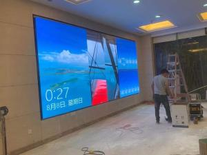 China 6ms P3 Indoor Led Display 341*256 Dots 1R1G1B Diecast Cabinet wholesale