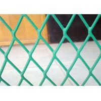 China Plastic Coated Expanded Metal Mesh Fence For Highway Protection System wholesale