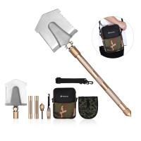 China Multifunctional Outdoor Leisure Products All In One Military Shovel Foldable And Portable wholesale