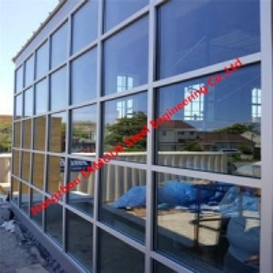 China Modern aluminium unitized curtain walls glass window walls enormous low windows wholesale