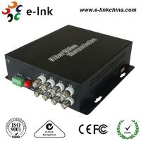 China Analog Video CCTV Fiber Optic Transmitter And Receiver 20km Transmission Distance wholesale