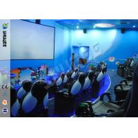 China Fashion Design 5D Movie Theater With Pneumatic /  Electric Motiom System wholesale