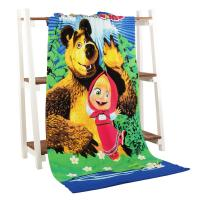 China Newest Animation Promotional Velour cotton Beach Towel for Children Swimming wholesale
