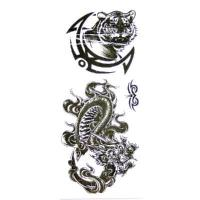 China New Temporary Tattoos Black & White Design Authentic on sale