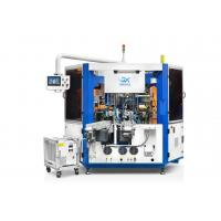 Buy cheap Fully Automatic Cosmetic Container Cylindrical Screen Printing Machine With LED from wholesalers