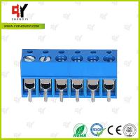 China HQ300-5.0 PCB Terminal Block 5.0 Wire Range 22- 14 AWG , Connector Terminal Block wholesale