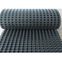 China drainage cell board, white plastic drainage board, HDPE  drainage sheet with geotextile wholesale