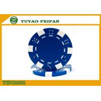 OEM Printable Plastic ABS Poker Chips GSV Certification Customised Poker Chips