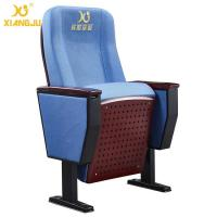 Buy cheap Folding Retractable Patent Design Church Auditorium Seating With Hole Painted Seat from wholesalers