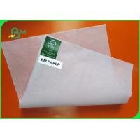 China 37-39 Gsm Glassine Paper Roll , Recyclable Silicone Coated Paper For Food Wrapping Bags on sale