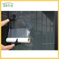 China Commercial Transparent Adhesive Protective Film For Glass Doors / Windows wholesale