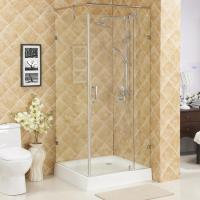 China Hinge square shower enclosure,without tray glass shower room,wholesale shower enclosures wholesale
