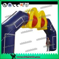 China Pop Advertising Inflatable Arches Outdoor Events Inflatable Entrance Arch wholesale