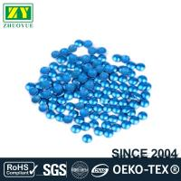 China Dresses Blue Dome Studs , Shiny Fixing Press Studs Environmentally Friendly wholesale