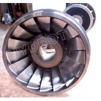China Stainless Steel Francis Turbine Runner for Capacity 100KW - 20MW Francis Water Turbine wholesale
