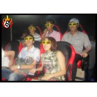 China Special Effect 5D Cinema Movies Immersive With 6 / 8 / 9 / 12 Seats wholesale