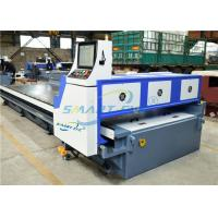 China Compact CNC V Grooving Machine , Automatic Grooving Machine Low Noise on sale