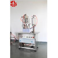 China Semi Automatic Aerosol Spray Paint Filling Machine Pneumatic Power wholesale