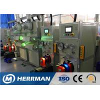 China Horizontal Type Fiber Optic Cable Production Line For Coloring And Rewinding wholesale