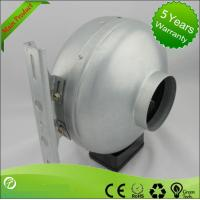 China Professional 220V AC Centrifugal Circular Inline Duct Vent Fan UL Approval wholesale