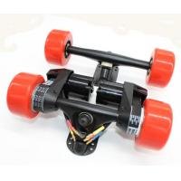 China Electric Longboard skateboard Conversion Kit Rear Truck With Two Motor +front truck - Belt Drive dual 5065 motor drive on sale