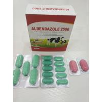 China Albendazole Veterinary Tablets For Animal Feed BP/USP/CP Standard wholesale