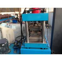China Singe Chain Driven Door Frame Roll Forming Machine For Door Shutter 5.5KW wholesale