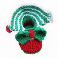 China Hand Crocheted Baby Shoes, Customized Design are Welceoom wholesale