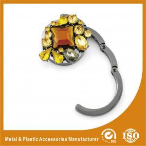 China Eco Friendly Custom Logo Purse Hook Hanger Foldable Purse Hangers wholesale