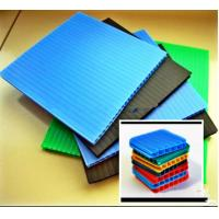 China Recyclable Environment Friendly Coroplast Corrugated Plastic Sheets PP Flute Board on sale